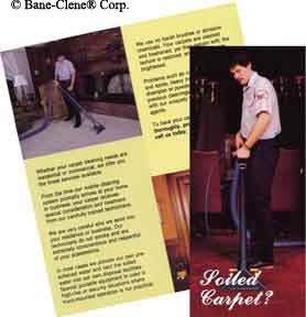 Soiled Carpet Brochure