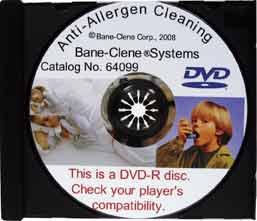 Anti-Allergen Training DVD