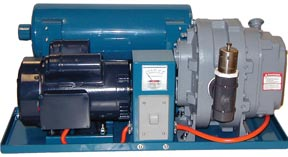 Aqua-Mount Vacuum Booster for Truckmounted Carpet Cleaning Equipment for Flood Damage Pumpouts and Water Restoration