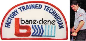 Well groomed uniformed carpet cleaning technicians