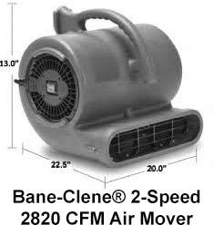 Hawk air mover