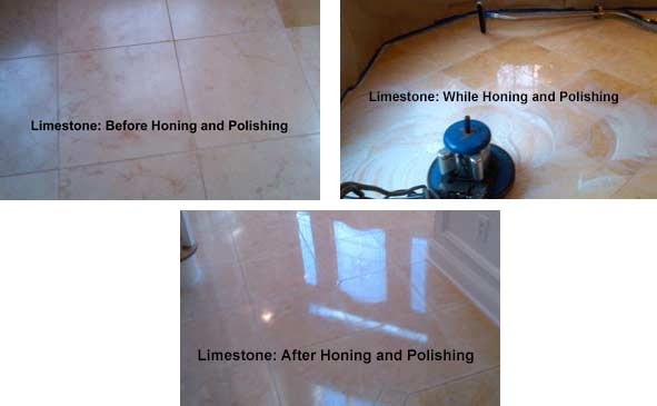 Limestone Honing and Polishing