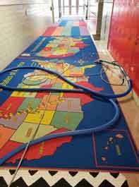Image of cleaned school rugs
