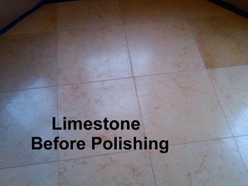Limestone Before Polishing