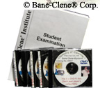 DVD's and Exam for Carpet Cleaning Technician Certification