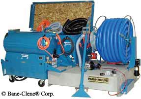 Para-Mount Truckmount Carpet Cleaning Machine that can be leased