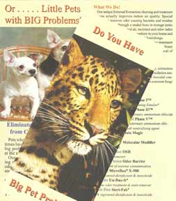 Brochure on Pet Urine Problems