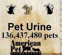 UPT+ dissolves and assists in removing pet urine deposits from carpets and rugs