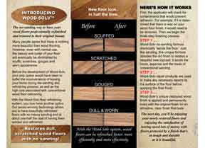 Wood-Solv Tri-Fold Brochure