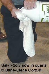 Saf-T-Solv™ Dry Solvent Spot Stain Remover
