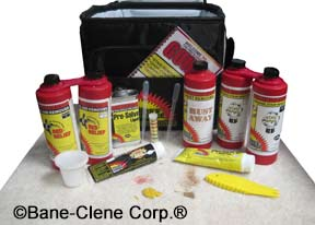 Pro's Choice Professional Spotting Kit for Carpet and Rug Cleaners belongs on every carpet cleaning truck!