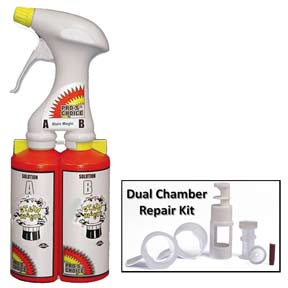 Dual Chamber Sprayer for Stain Magic