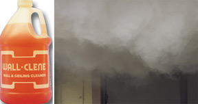 Wall-Clene™ Wall and Ceiling Cleaner For smoke and soot removal from fire damage and furnace blow-back