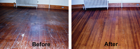 Wood Floors Without Sanding