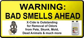 X-Cide Odor Killer from CTI Pro's Choice